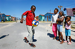 Soccer in the Township - Photo Willem van de Polder